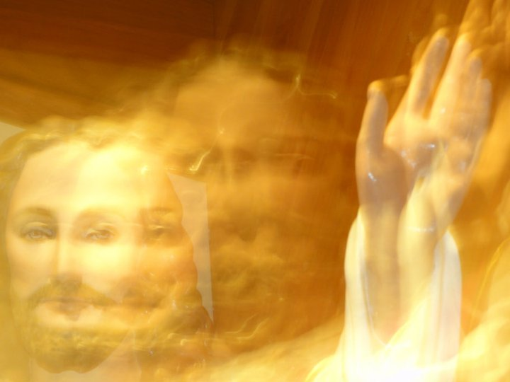 Jesus blur