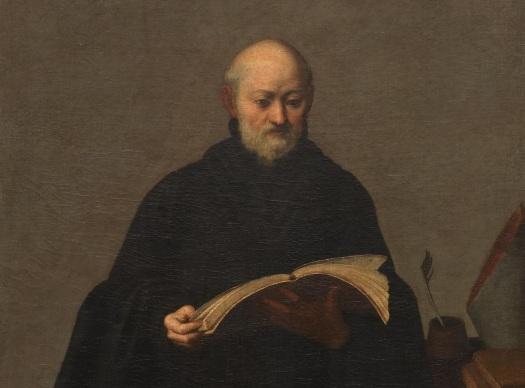 San_Beda,_de_Bartolomé_Román_(Museo_del_Prado)