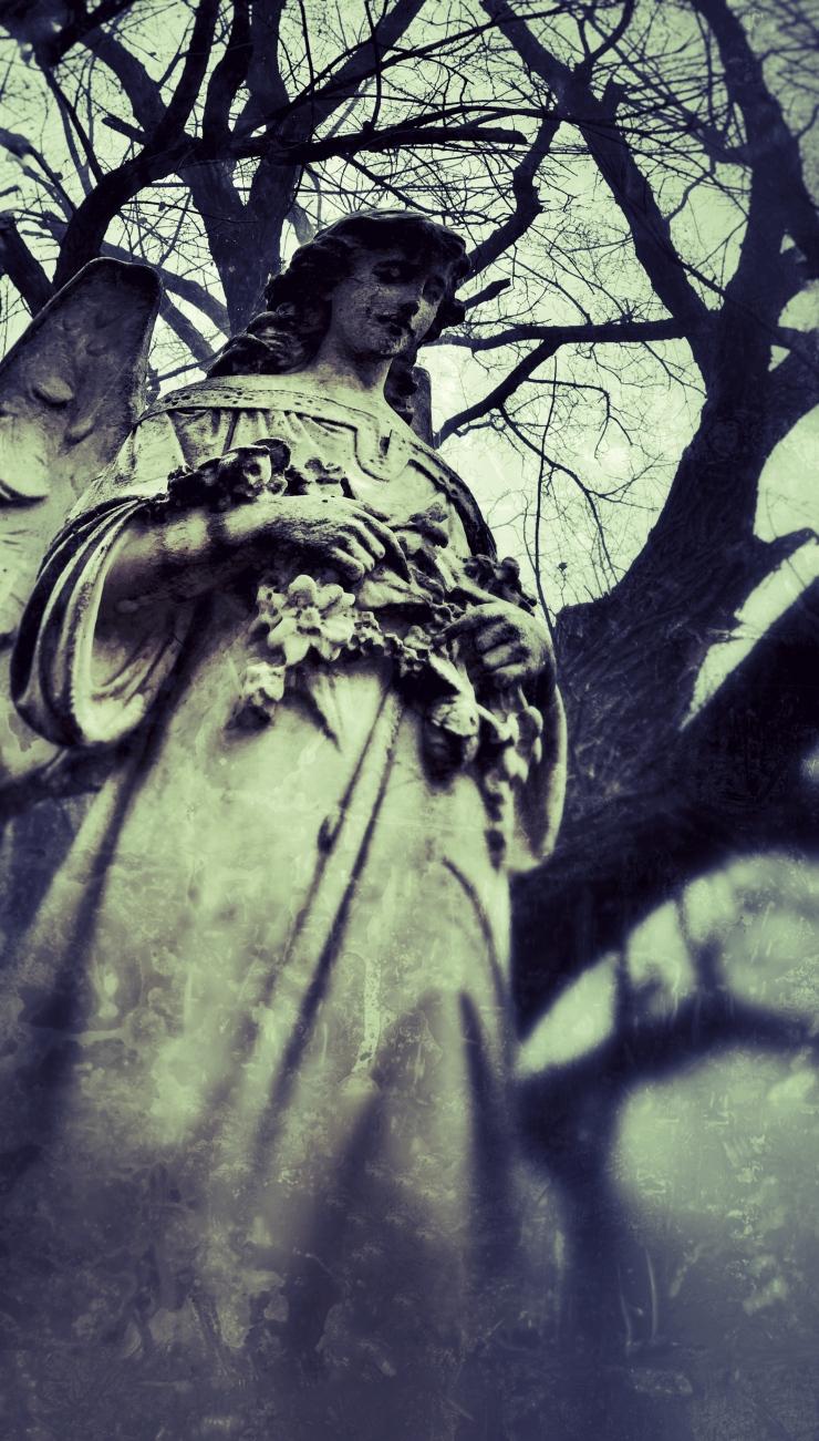 Foggy Day Angel